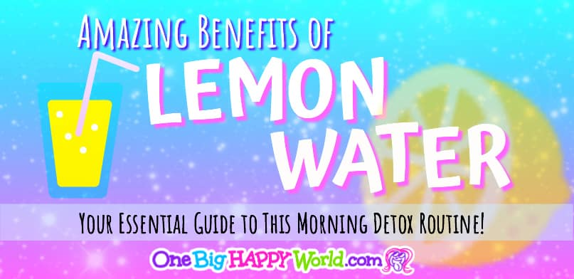 🍋 Lemon Water Boosts Your Health and Happiness!🍋